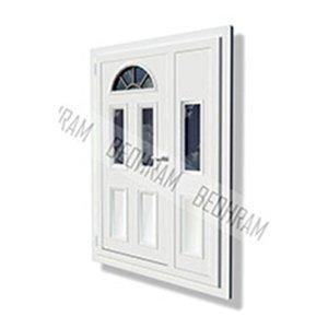PVC Dvokrilna ulazna vrata, Beohram ECO, Beohram PRO, Beohram LUX