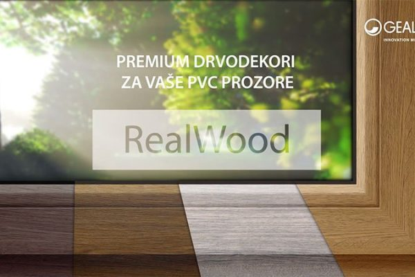 PVC Stolarija u boji - Realwood Drvodekor